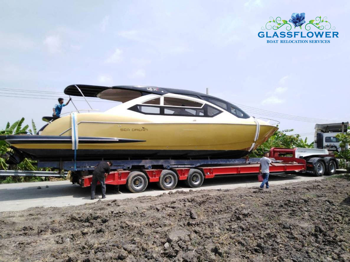 boat relocation service pattaya glassflower