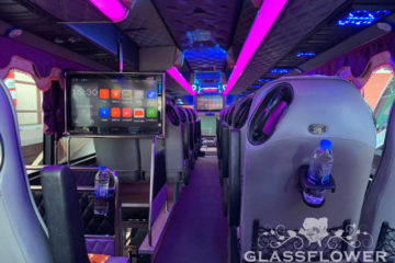 glassflower vip coach bus
