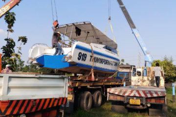 glassflower with boat relocatio services